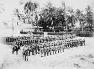THE SCHUTZTRUPPE IN GERMAN EAST AFRICA PRE-1914
