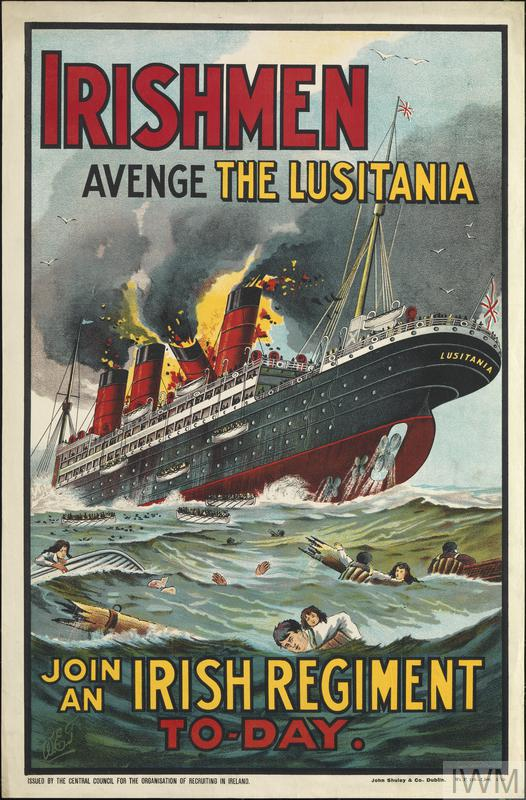 Irishmen Avenge the Lusitania