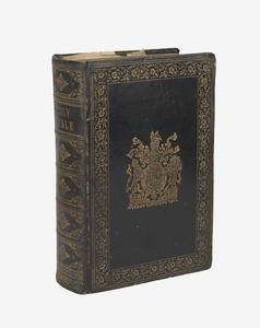 Holy Bible from HMS WARSPITE, Battle of Jutland 1916