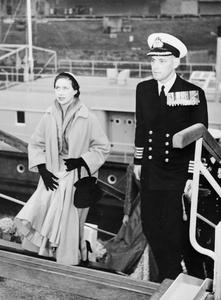 HRH PRINCESS MARGARET VISITS GERMANY. JULY 1954, KREFELD, GERMANY.