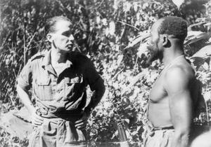 POLISH OFFICERS IN THE ROYAL WEST AFRICAN FRONTIER FORCE IN BURMA