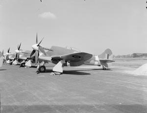 AIRCRAFT IN ROYAL AIR FORCE SERVICE, 1939-1945: HAWKER TEMPEST.