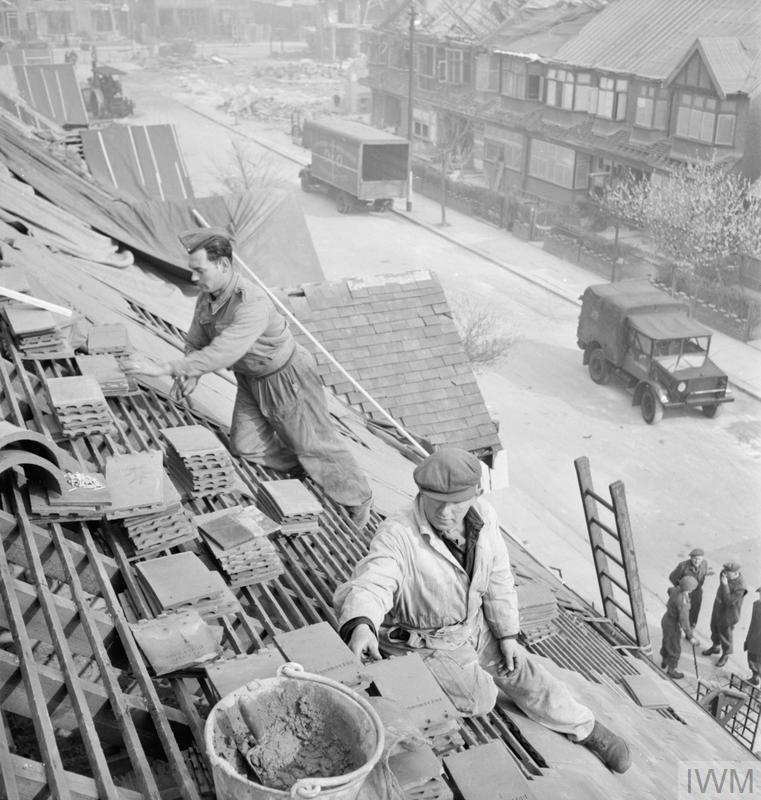 POST WAR PLANNING AND RECONSTRUCTION IN BRITAIN: REPAIRING ...