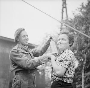 THE LIBERATION OF SANDBOSTEL CONCENTRATION CAMP, MAY 1945