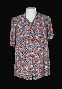 Blouse, floral: women's civilian