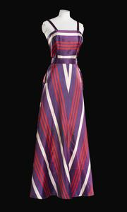Dress, evening wear (post-war):  women's, civilian