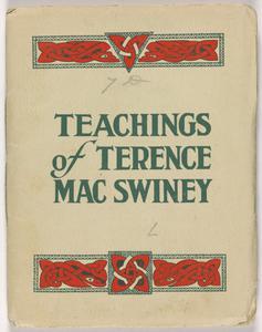 Teachings of Terence MacSwiney