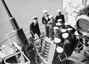 HMS GAMBIA VISITS IRAN