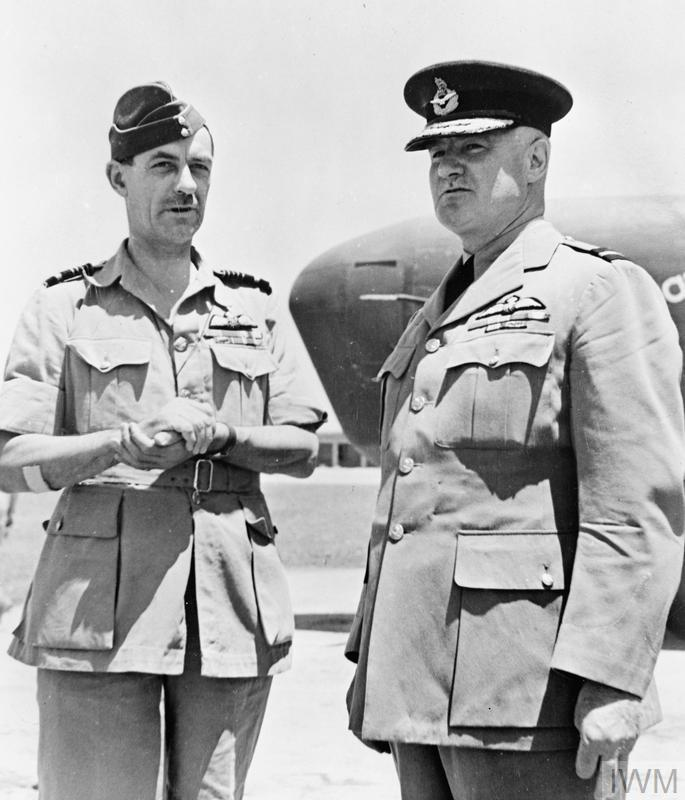 ROYAL AIR FORCE OPERATIONS IN THE MIDDLE EAST AND NORTH AFRICA, 1940-1943.