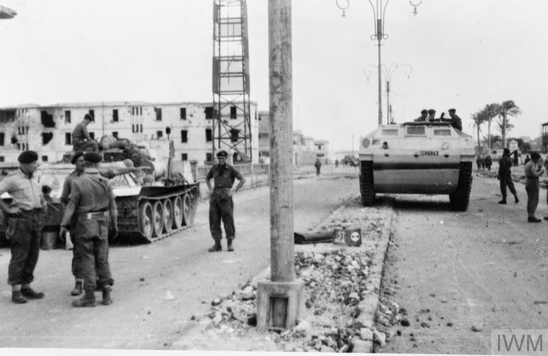 An introduction to the history of the suez crisis of 1956