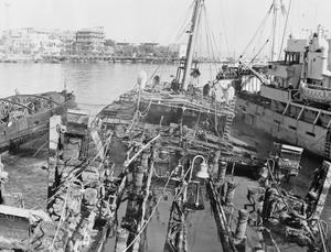 SALVAGE OPERATIONSIN THE SUEZ CANAL, 1956-1957