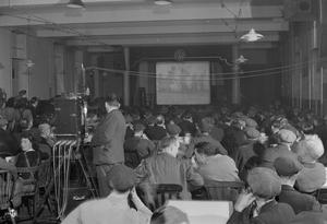 FILMS WHILE YOU EAT: MINISTRY OF INFORMATION FILM SHOWS IN BRITAIN, 1944