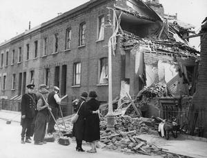 BOMB DAMAGE: 1940