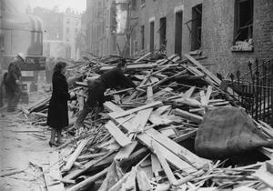 BOMB DAMAGE: 1943