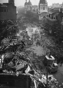 BOMB DAMAGE: 1945