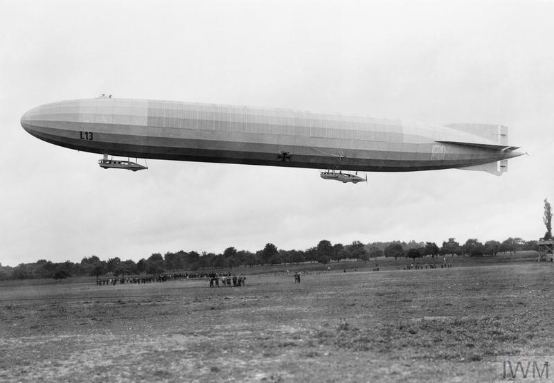 AIRSHIPS OF THE FIRST WORLD WAR