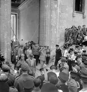 WINSTON CHURCHILL IN BERLIN, JULY 1945