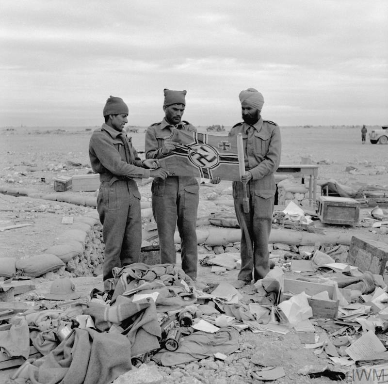 INDIAN FORCES IN NORTH AFRICA DURING THE SECOND WORLD WAR