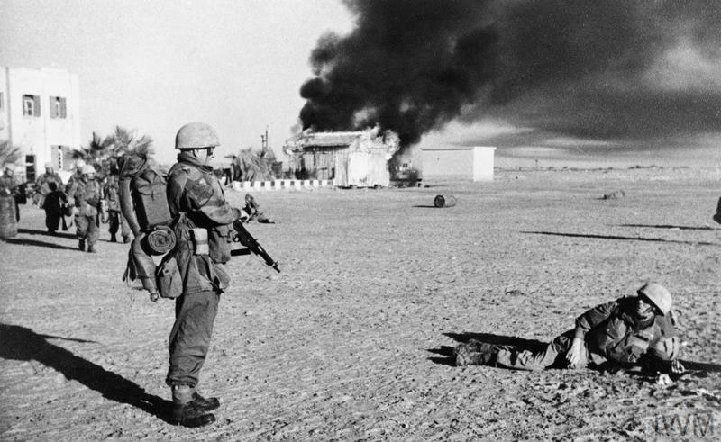 THE SUEZ CRISIS (OPERATION MUSKETEER) 1956