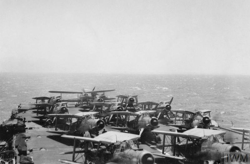 THE FLEET AIR ARM IN THE MEDITTERANEAN, FEBRUARY-AUGUST 1941.