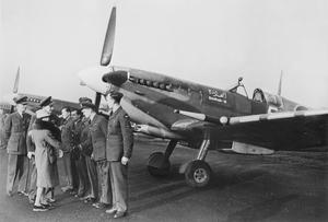 SUPERMARINE SPITFIRE IX AIRCRAFT IN SERVICE WITH THE ROYAL AIR FORCE, 1944