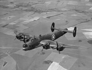 Halifax Bomber<br>&copy; IWM (HU 107792)