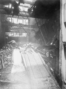 AIR RAID DAMAGE IN LONDON DURING THE FIRST WORLD WAR
