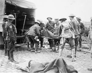 MEDICINE DURING THE FIRST WORLD WAR: MEDICAL TRANSPORT