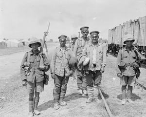 BRITISH FORCES DURING THE SALONIKA CAMPAIGN 1915-1918