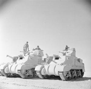 THE BRITISH ARMY IN NORTH AFRICA