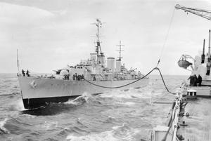 EXERCISE MAINBRACE. SEPTEMBER 1952, ON BOARD HMS VANGUARD IN THE MORAY FIRTH, DURING THE 8 POWER NAVAL EXERCISE.