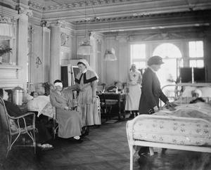 THE WORK OF THE VOLUNTARY AID DETACHMENT (VAD) DURING THE FIRST WORLD WAR