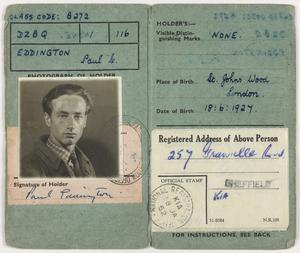 Private Papers of P C Eddington