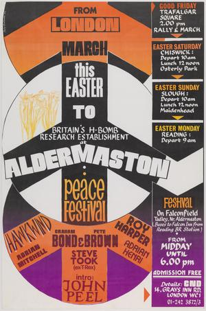 March this Easter to Aldermaston