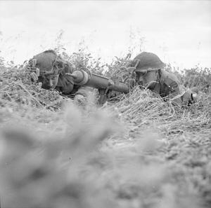 ALLIED CAMPAIGN IN NORTH WEST EUROPE THE BATTLE FOR CAEN JUNE 1944