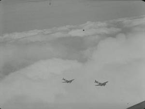 BLENHEIMS IN FLIGHT AND ON GROUND [Allocated Title]
