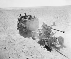 BATTLE OF EGYPT: THE RETREAT OF THE EIGHTH ARMY TO NEW POSITIONS