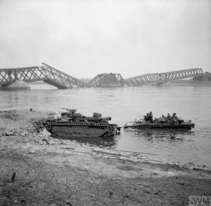 THE BRITISH ARMY IN NORTH-WEST EUROPE 1944-45: ASSAULT ON THE RHINE AND CAPTURE OF WESEL
