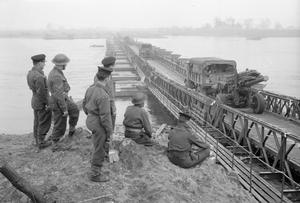 THE BRITISH ARMY IN NORTH-WEST EUROPE 1944-45: THE RHINE IS BRIDGED