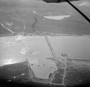 THE BRITISH ARMY IN NORTH-WEST EUROPE 1944-45: AIR PICTURES OVER RHINE BATTLE AREA