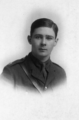 Second Lieutenant Lionel Jack Hardwicke Cowie
