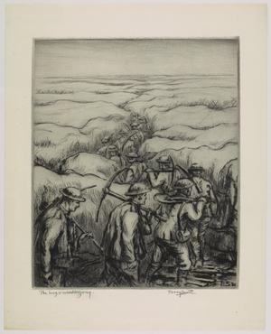Twelve drypoints of the War 1914 -1918 - The Long and Winding Way