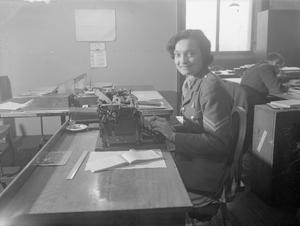 THE AUXILIARY TERRITORIAL SERVICE DURING THE SECOND WORLD WAR