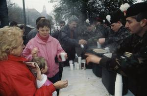 THE BERLIN WALL 1961 - 1989