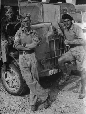 THE SERVICE AND CAREER OF SERGEANT EDDY SMALES WITH ARMY FILM AND PHOTOGRAPHY UNITS DURING THE SECOND WORLD WAR