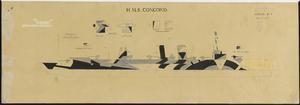 HMS Order No 1 - HMS Concord [Starboard]