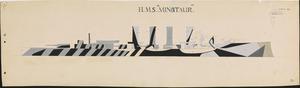HMS Order No 26 - HMS Minotaur [Starboard]