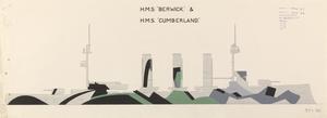 HMS Order Nos. 37/38 - HMS Cumberland and HMS Berwick [Starboard]