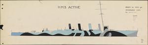HMS Order No 46 - HMS Active [Starboard]
