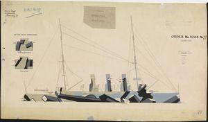 HMS Order No 77 - HMS Vindictive [Starboard]